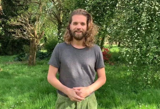 Videobotschaft von Cédric Le Gallo (Die glitzernden Garnelen)